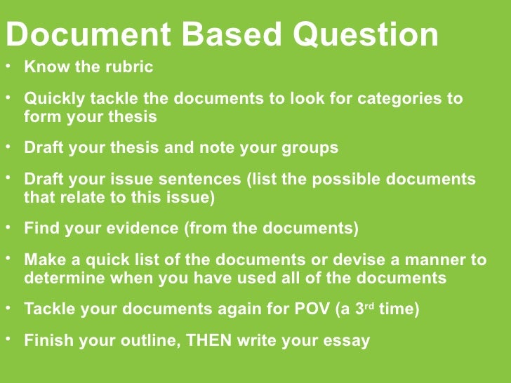 global history regents dbq essay rubric Global regents dbq essay rubric revised rubric 04b p 12 : nysed, administrations of the global history regents examination between the thematic essay and the dbq essay for example, in the dbq.