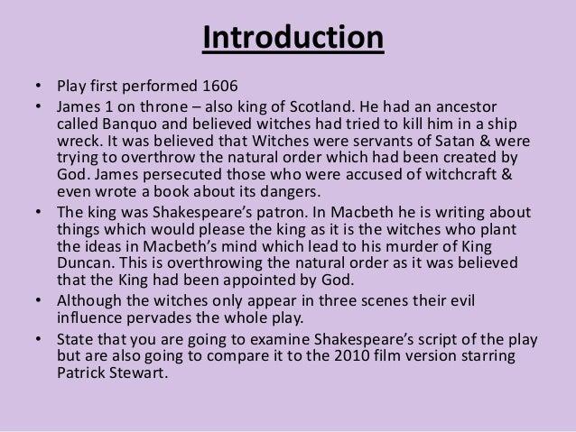 comparative essay between macbeth and a
